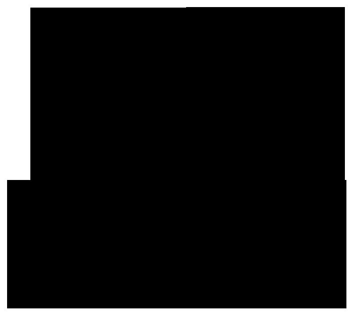 Bản vẽ kỹ thuật chậu rửa mặt đặt bàn INAX L-2298V