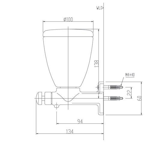 Bản vẽ kỹ thuật hộp xà phòng INAX KFV-24AY